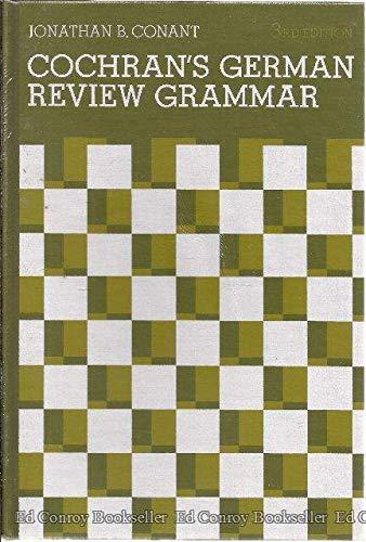 9780131395015: Cochran's German Review Grammar