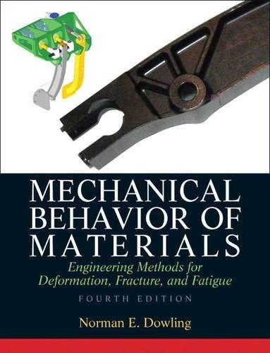 9780131395060: Mechanical Behavior of Materials
