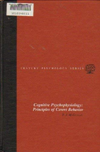 9780131395190: Cognitive Psychophysiology: Principles of Covert Behaviour (Century psychology series)