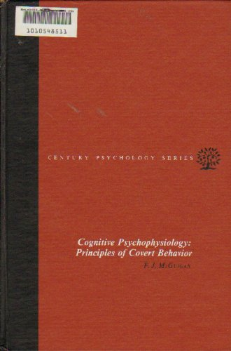 9780131395190: Cognitive Psychophysiology: Principles of Covert Behaviour (Century psychology series)