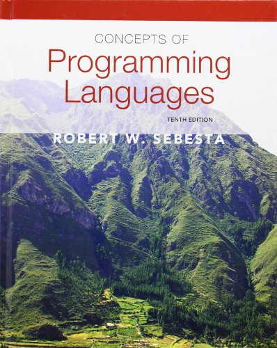 9780131395312: Concepts of Programming Languages