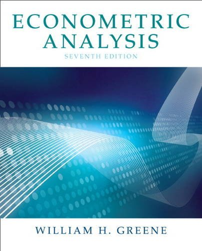 9780131395381: Econometric Analysis (7th Edition)