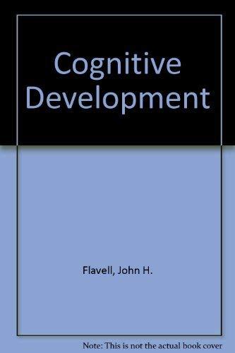 9780131397910: Cognitive Development