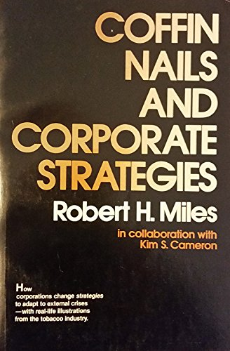 9780131398160: Coffin nails and corporate strategies