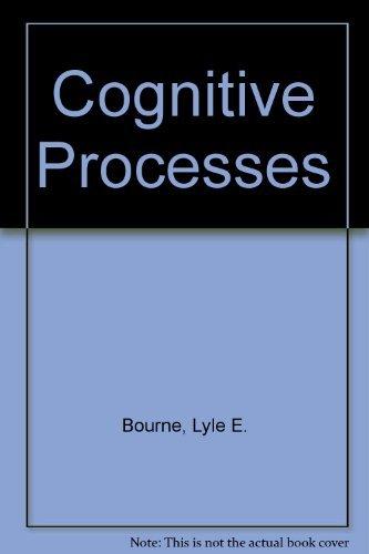 9780131398337: Cognitive Processes