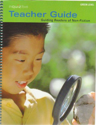 9780131398399: Green Level Inquizitive Teacher Guide: Guiding Readers of Non-fiction