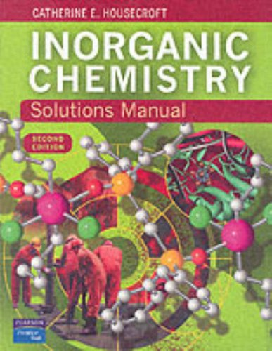 9780131399266: Inorganic Chemistry: Solutions Manual