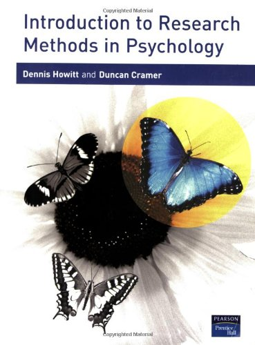 9780131399846: Introduction to Research Methods in Psychology