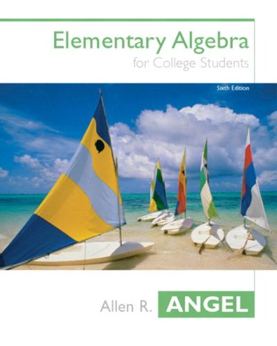 9780131400238: Elementary Algebra for College Students