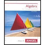 Elementary Algebra for College Students: AIE: Allen R. Angel