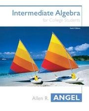 9780131400603: Intermediate Algebra for College Students: AIE