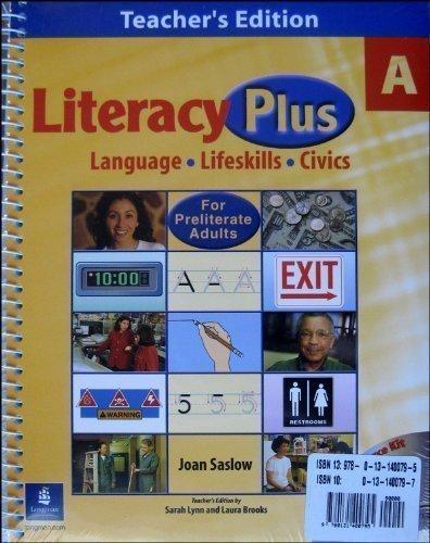 9780131400795: Literacy Plus a Teacher's Edition 'a' Kit