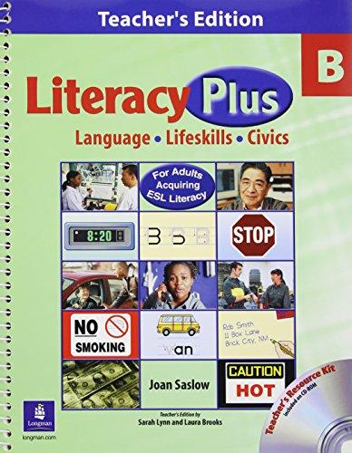 9780131400801: Literacy Plus B: Teacher's Edition