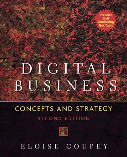 9780131400979: Digital Business: Concepts and Strategies, 2nd Edition