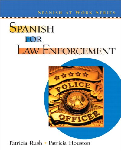 9780131401334: Spanish For Law Enforcement