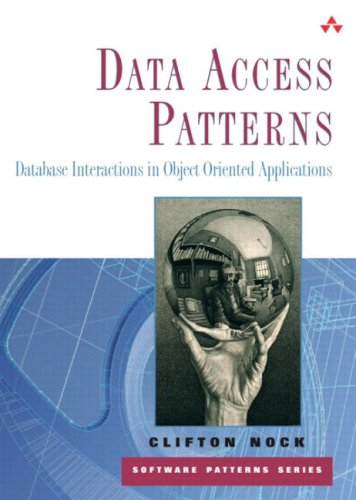 9780131401570: Database Interactions in Object-Oriented Applications (Software Patterns)
