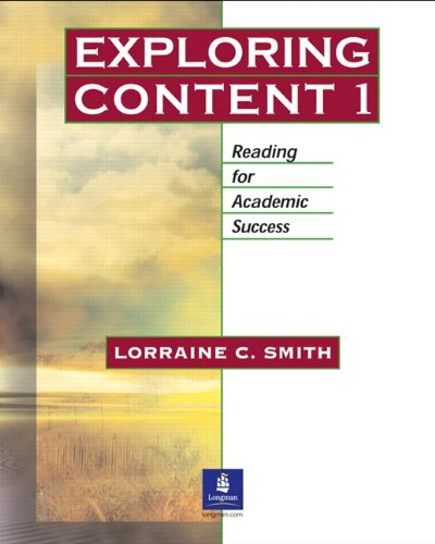 9780131401983: Exploring Content, Book 1: Reading for Academic Success