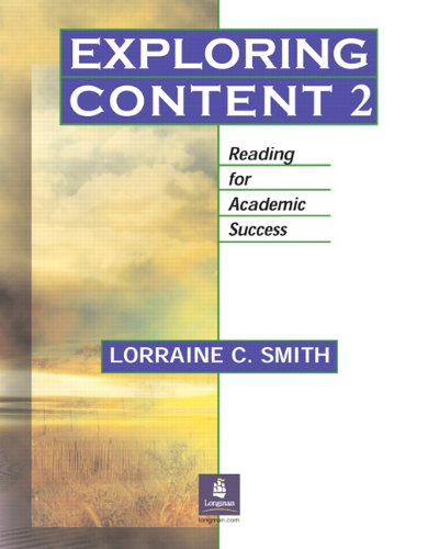 9780131402003: Exploring Content 2: Reading for Academic Success: Pt. 2