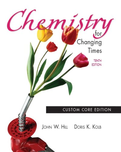 9780131402461: Chemistry for Changing Times, 10th Edition