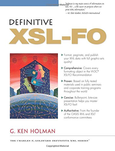 9780131403741: Definitive XSL-FO (Definitive XML)