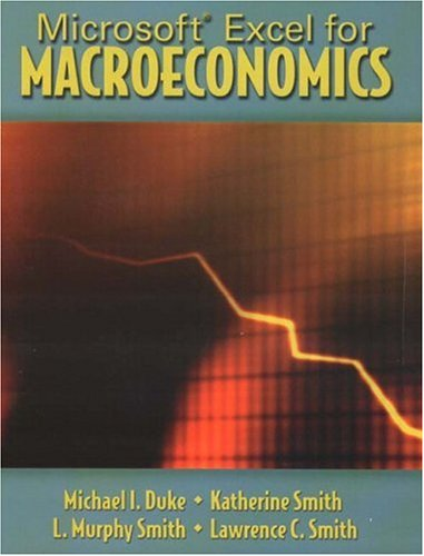 9780131404670: Microsoft Excel for Macroeconomics