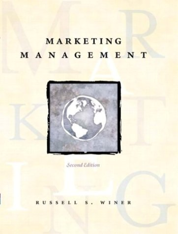 9780131405479: Marketing Management, Second Edition