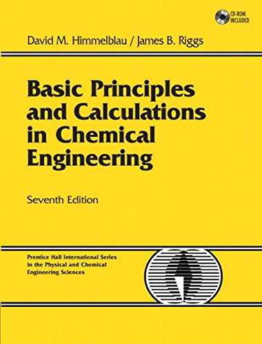 9780131406346: Basic Principles and Calculations in Chemical Engineering: United States Edition (Prentice Hall International Series in the Physical and Chemi)