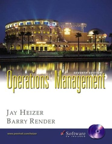 9780131406384: Operations Management and Student CD-ROM, Seventh Edition
