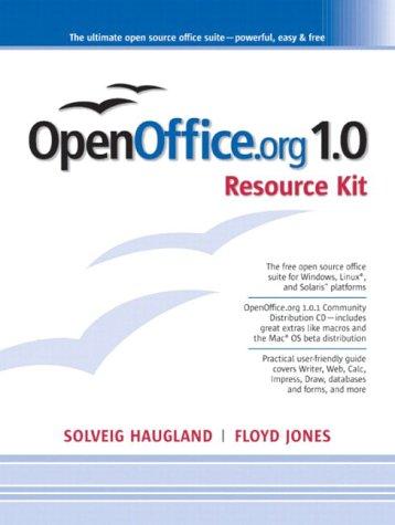 9780131407459: OpenOffice.Org 1.0 Resource Kit