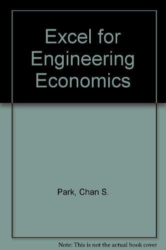 9780131407930: Excel for Engineering Economics
