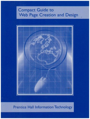 9780131408685: Compact Guide to Web Page Creation and Design
