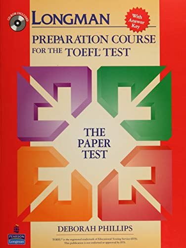 9780131408838: Longman Preparation Course for the TOEFL Test: The Paper Test, with Answer Key (Go for English)