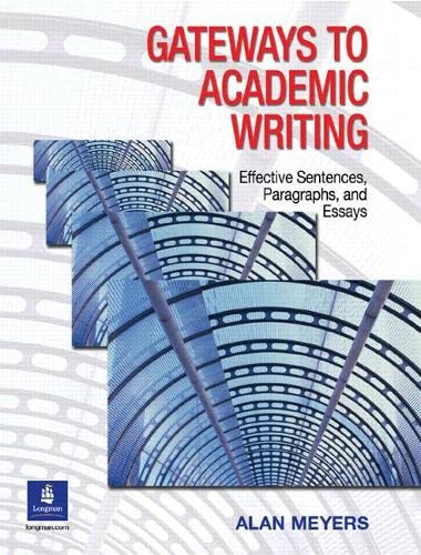 9780131408883: Gateways to Academic Writing: Effective Sentences, Paragraphs, and Essays