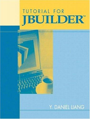 9780131410794: Tutorial for JBuilder (Programming Languages)