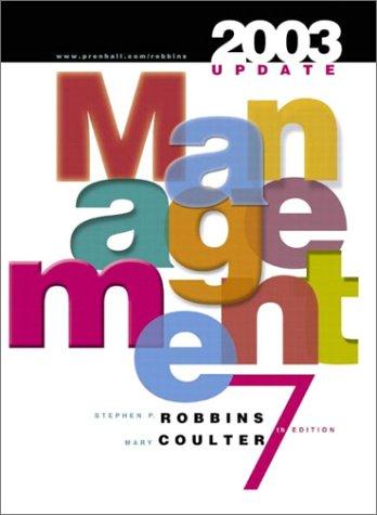 9780131410817: Management: 2003 Update