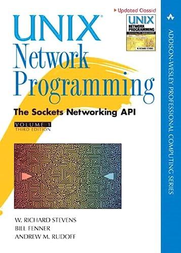 Unix Network Programming, Volume 1: The Sockets: W. Richard Stevens;