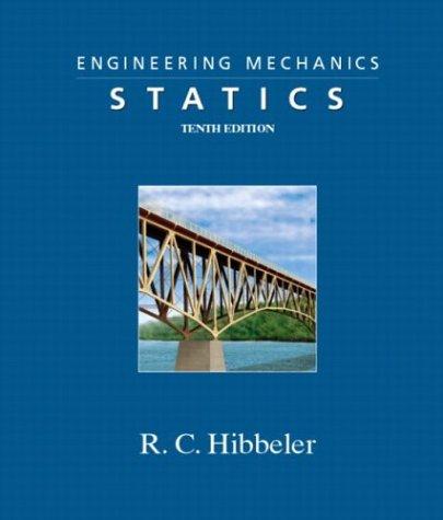 9780131411678: Engineering Mechanics - Statics (10th Edition)