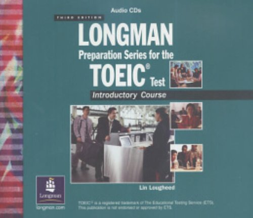 Longman Preparation Series For The Toeic Test: Lin; Lougheed