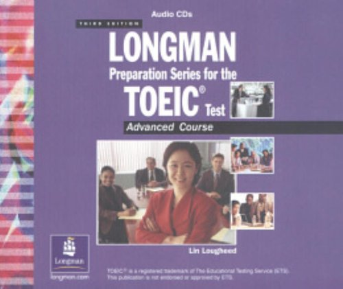 9780131411869: Longman Preperation Series for the TOEIC Test: Advanced Audio CDs