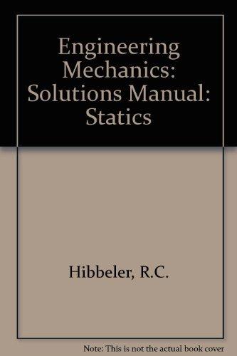 9780131412125: Engineering Mechanics: Statics: Solutions Manual