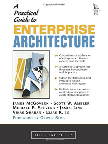 9780131412750: A Practical Guide to Enterprise Architecture (Coad Series)