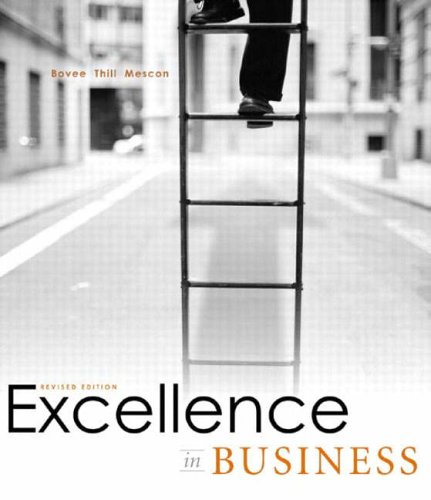 9780131414389: Excellence in Business