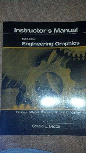 9780131415249: Engineering Graphics: Instructors Manual