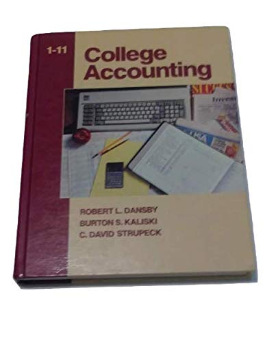 9780131417144: College Accounting, 1-11