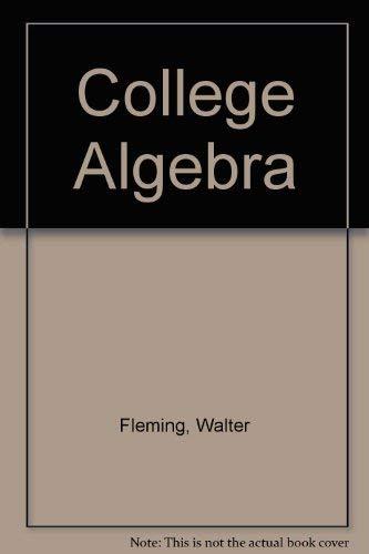 9780131417557: College Algebra St/mnl S/M