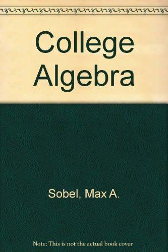 9780131417960: College algebra
