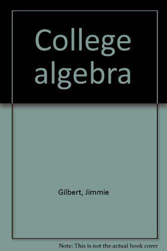 9780131418042: College algebra