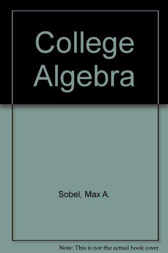 9780131418394: College Algebra