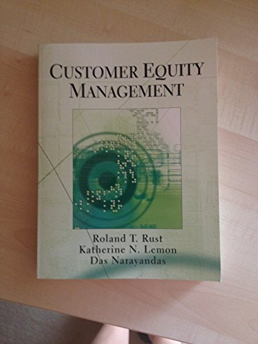 9780131419292: Customer Equity Management