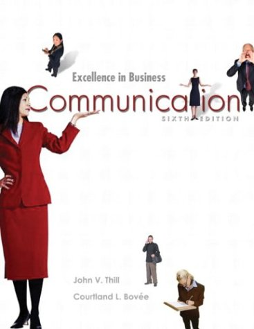 9780131419650: Excellence in Business Communication